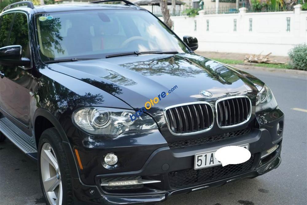 Cần bán BMW X5 3.0 năm 2007, màu đen, xe nhập