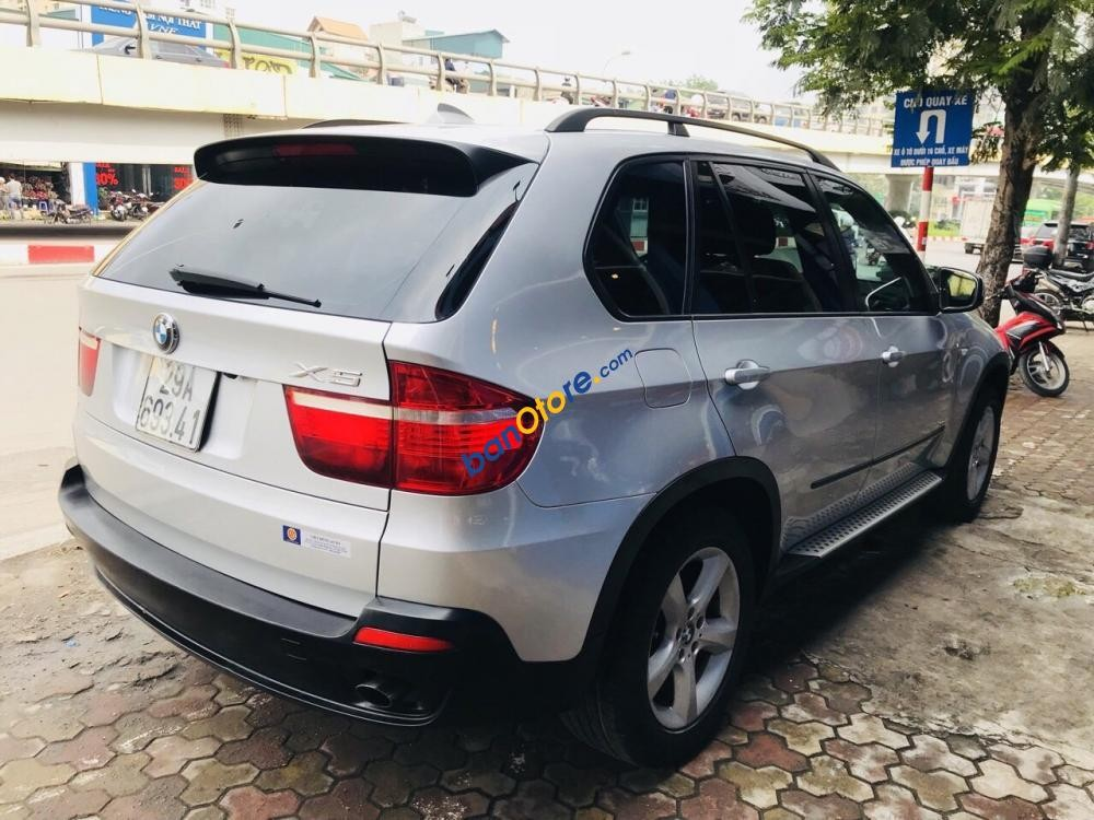 Cần bán xe BMW X5 năm sản xuất 2008, màu bạc, nhập khẩu
