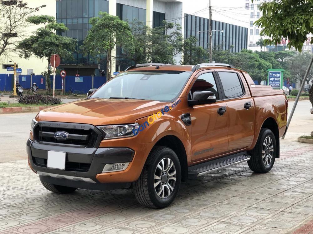 Bán Ford Ranger Wildtrak 3.2 sản xuất 2018, xe nhập như mới