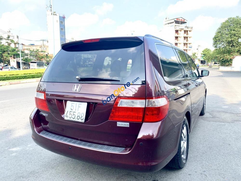 Cần bán Honda Odyssey năm sản xuất 2008, màu đỏ, nhập khẩu nguyên chiếc
