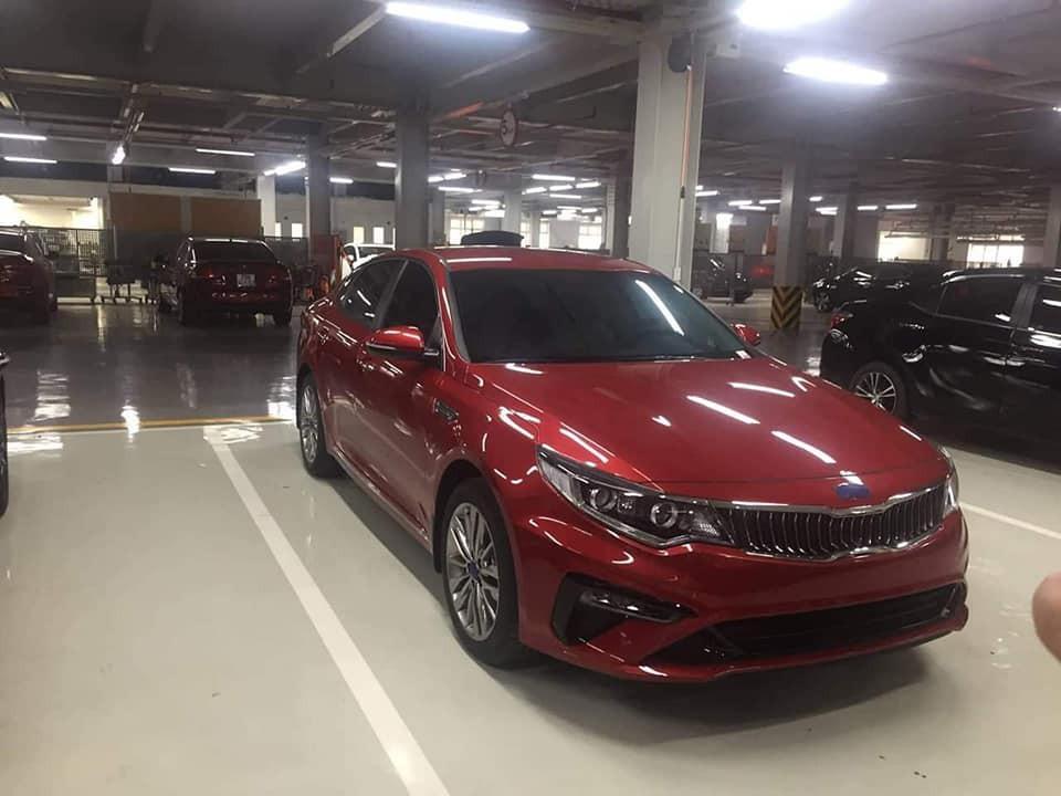 Kia Optima facelift 2019