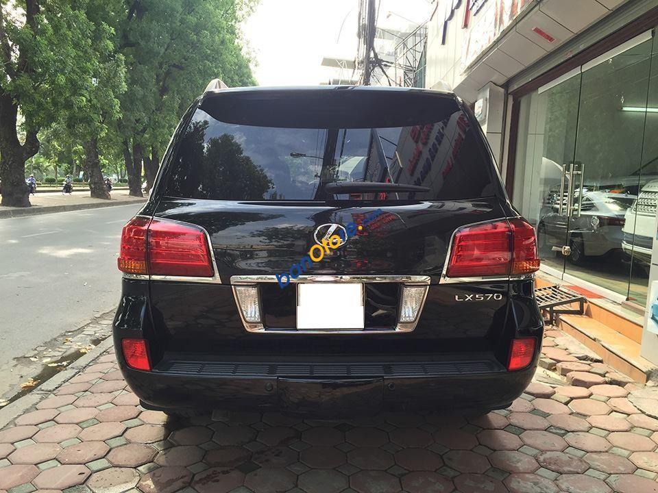 Bán xe Lexus LX 570 năm sản xuất 2011, màu đen, xe nhập