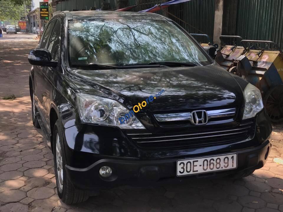 Bán Honda CR V năm sản xuất 2009, màu đen, xe nhập, giá 540tr