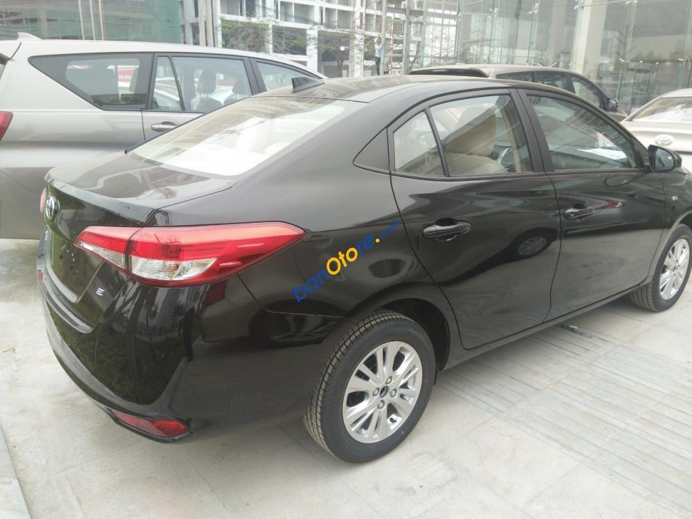 Bán xe Toyota Vios 1.5 E 2019, màu đen
