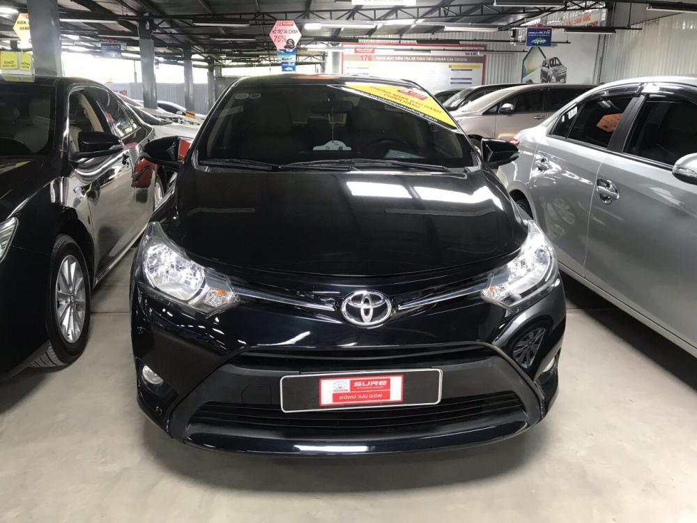 Bán Toyota Vios E 2016, màu đen