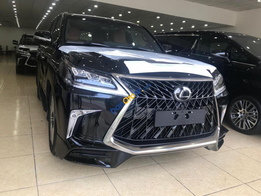 Bán Lexus LX 570 Super Sport Autobiography MBS sản xuất 2019, màu đen, nhập khẩu nguyên chiếc