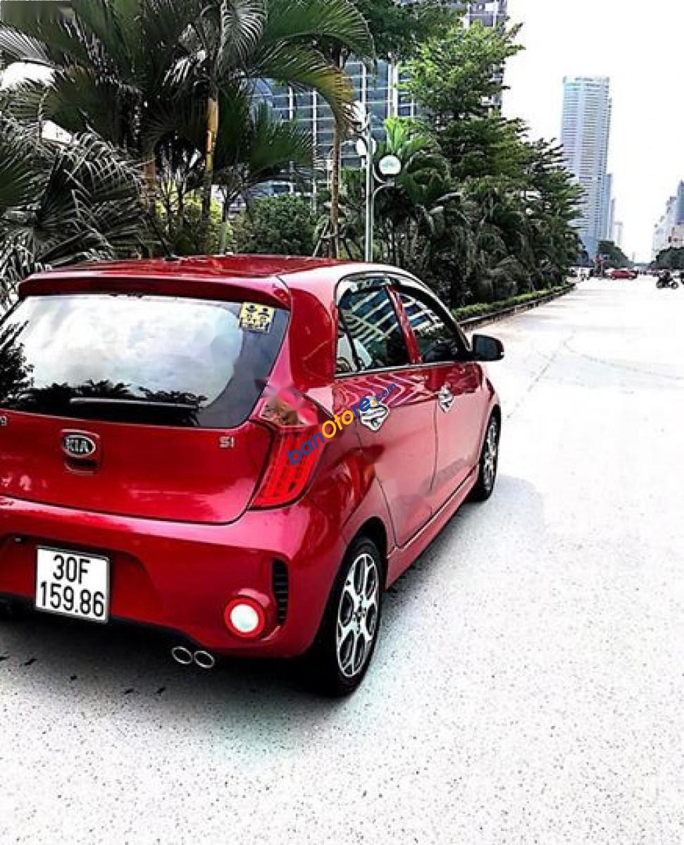 Bán Kia Morning Si MT năm sản xuất 2016, màu đỏ giá cạnh tranh