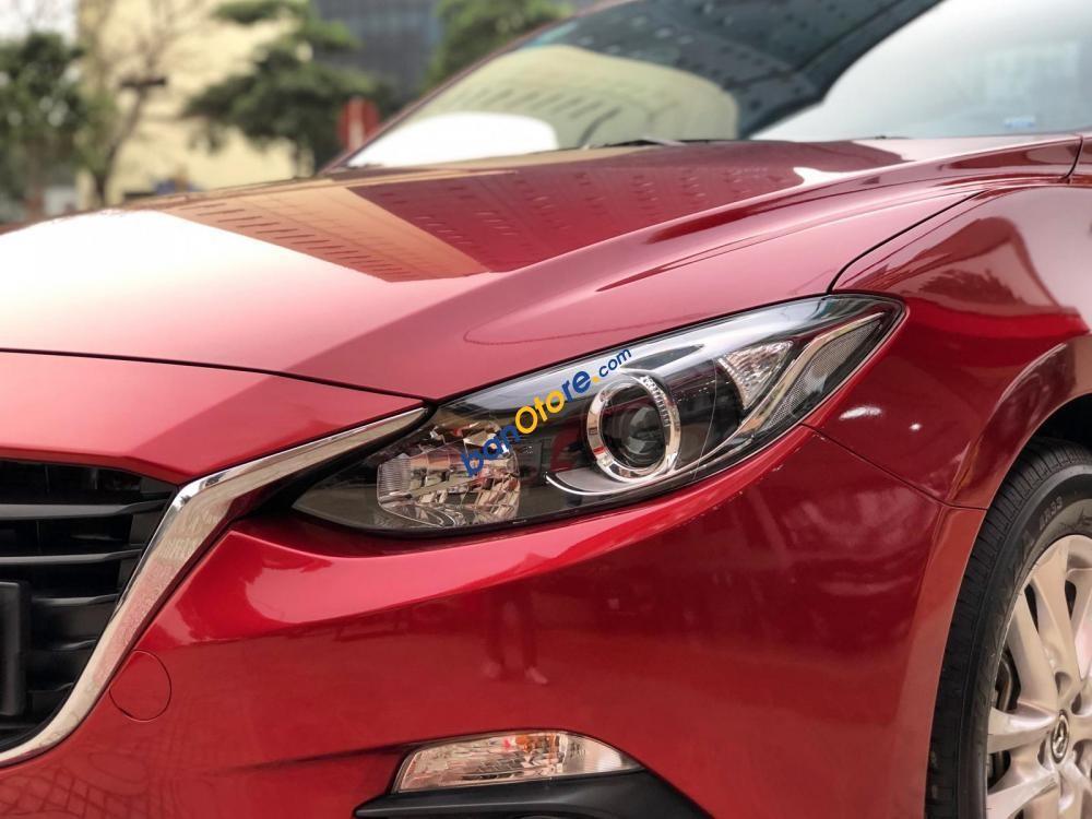 Bán Mazda 3 1.5AT sản xuất 2016, màu đỏ chính chủ