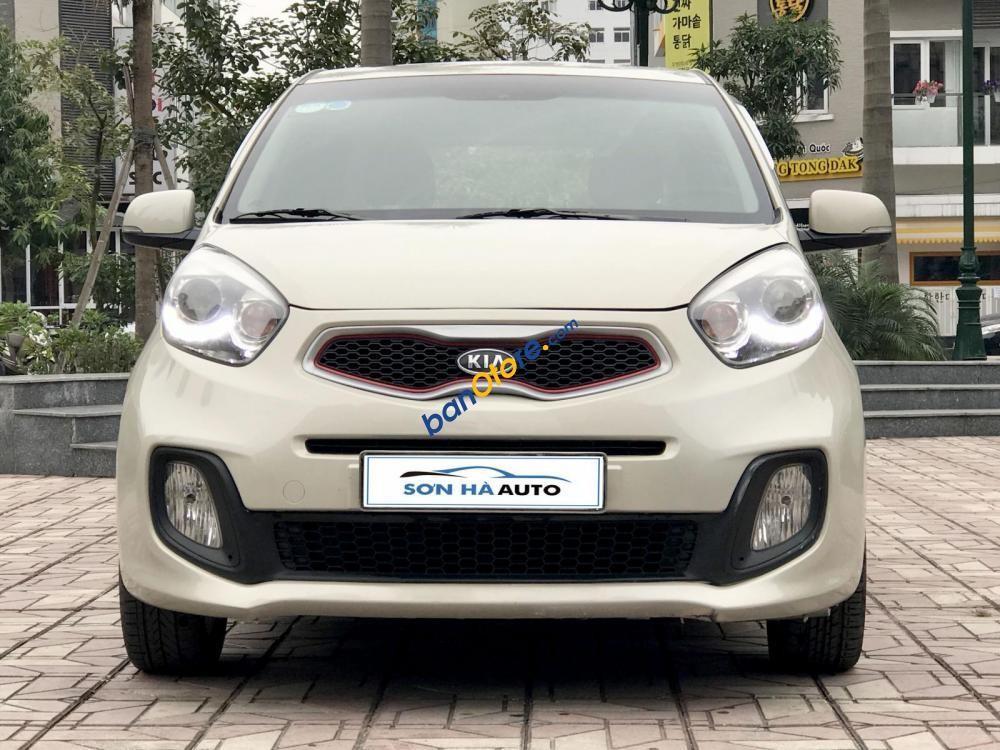Bán xe Kia Morning Sport 1.0AT sản xuất 2012, màu kem (be), nhập khẩu Hàn Quốc