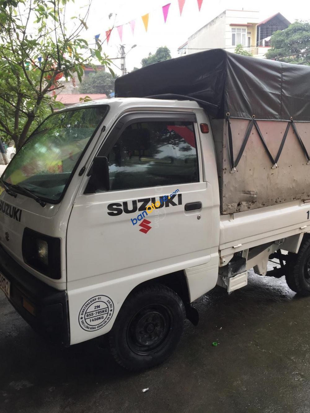 Cần bán Suzuki Carry năm sản xuất 2004, màu trắng, giá tốt