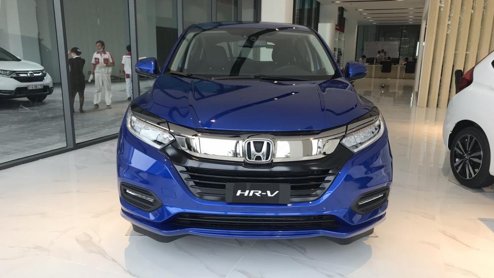 Bán ô tô Honda HRV L năm 2019, màu xanh lam, Nhập khẩu Thái