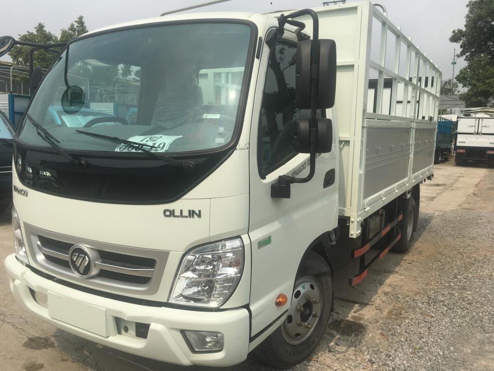 Liên hệ 096.96.44.128 bán xe Thaco Ollin 350 2018, màu trắng