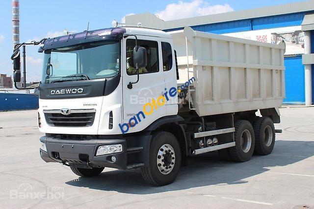 Bán xe ben-tải-đầu kéo-trộn bê tông Daewoo nhập khẩu nguyên chiếc-giá tốt