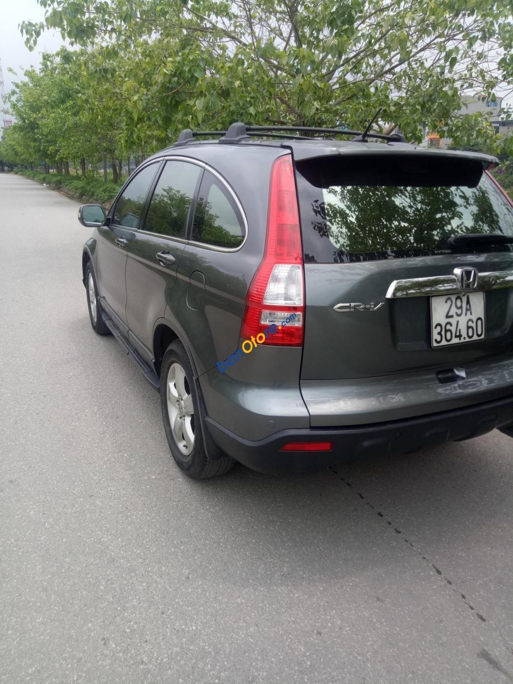 Cần bán Honda CR V 2.0 năm 2009, màu xám, nhập khẩu
