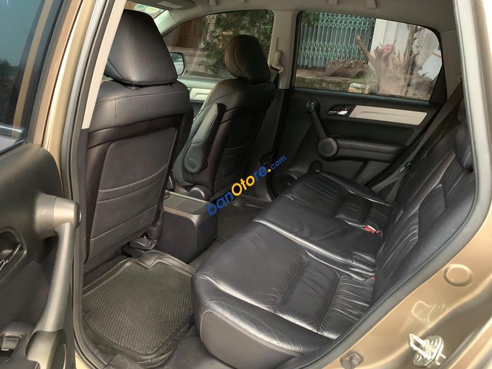 Cần bán xe Honda CR V 2.4AT năm sản xuất 2011, màu ghi vàng
