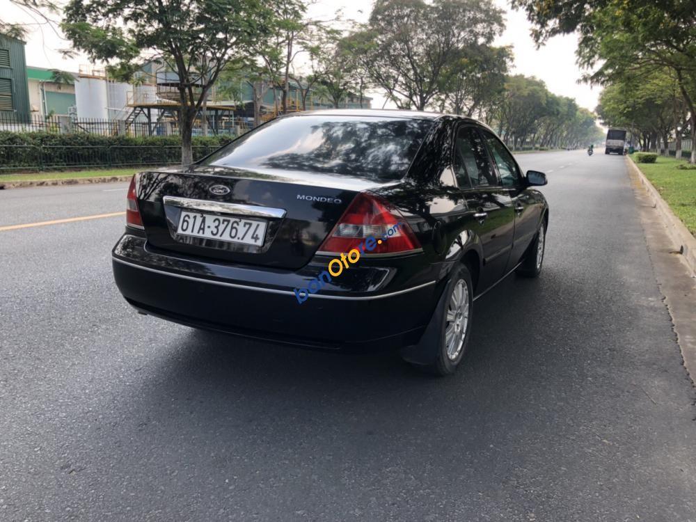 Bán Ford Mondeo 2.0 sản xuất 2004, màu đen, xe nhập