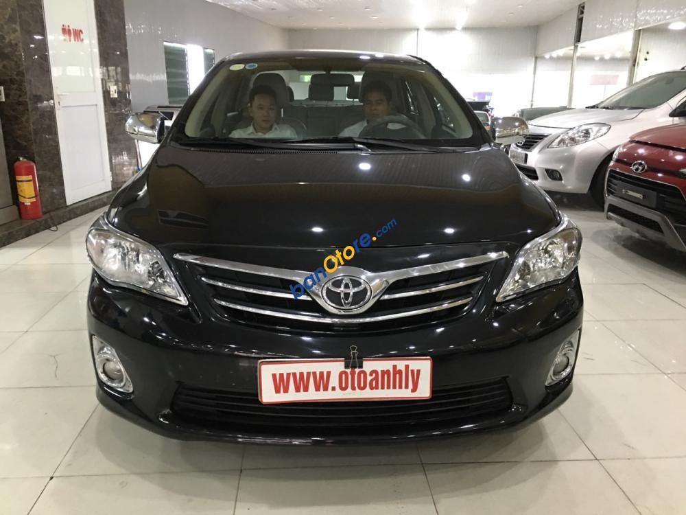 Bán Toyota Corolla Altis đời 2012, màu đen, số tự động