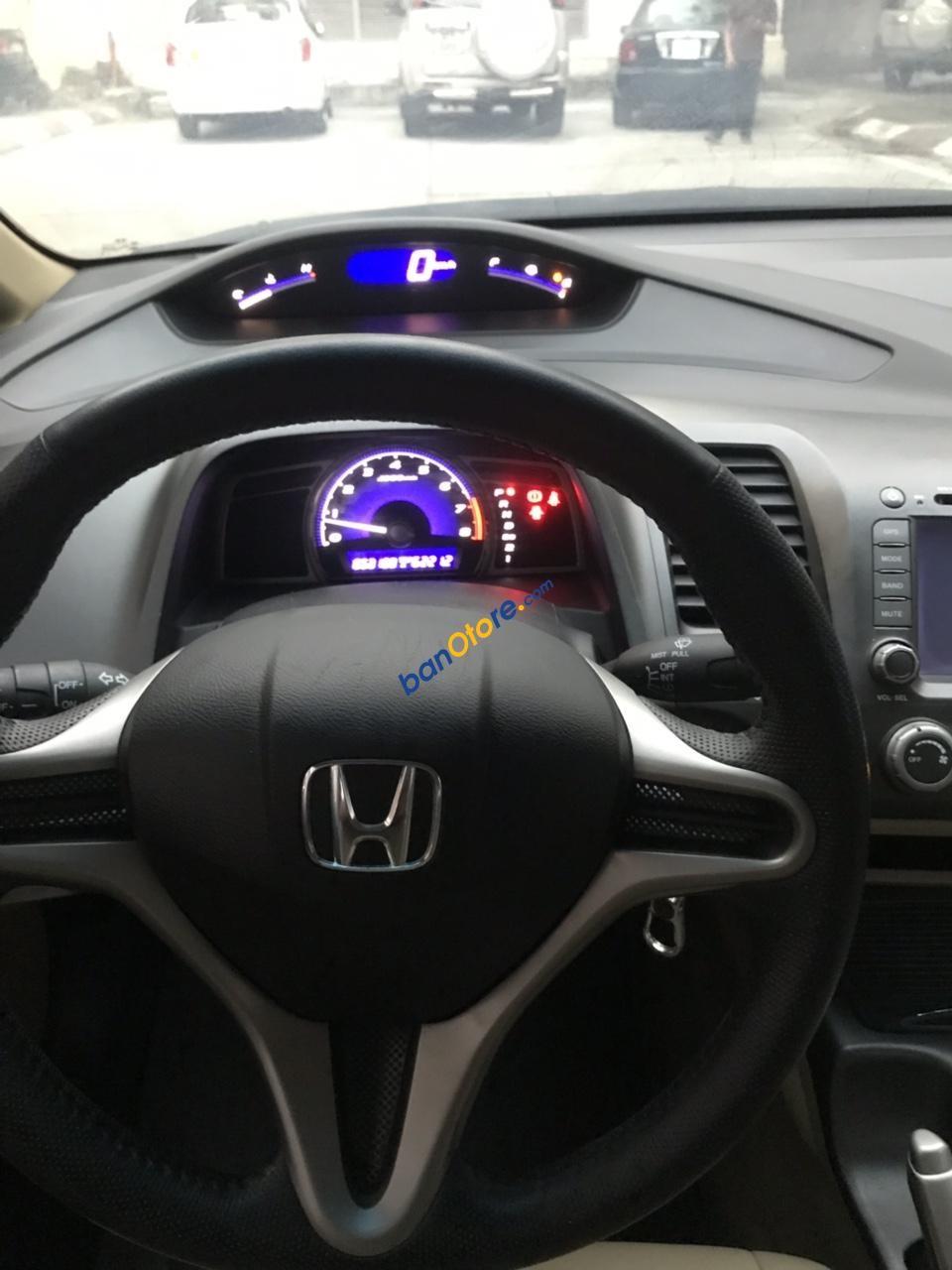 Bán xe Honda Civic 1.8 AT năm 2012, màu bạc chính chủ, 435tr