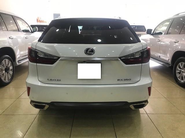 Bán Lexus RX350 trắng, nội thất kem, sản xuất 2017, đăng ký T12.2017, cty xuất hóa đơn