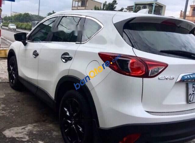 Bán Mazda CX 5 năm sản xuất 2015, màu trắng