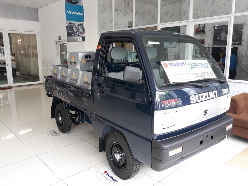 Bán Suzuki Super Carry Truck 650kg giá tốt, tặng 12 triệu chỉ trong t.9