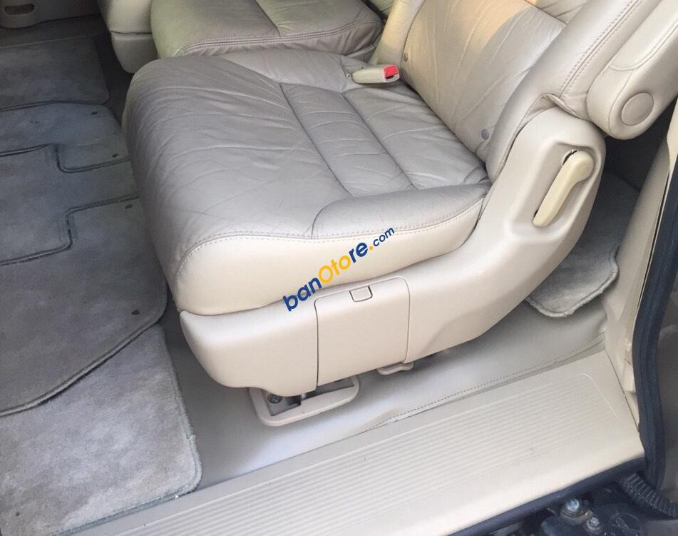 Bán Honda Odyssey EXL năm 2007, màu vàng, nhập khẩu