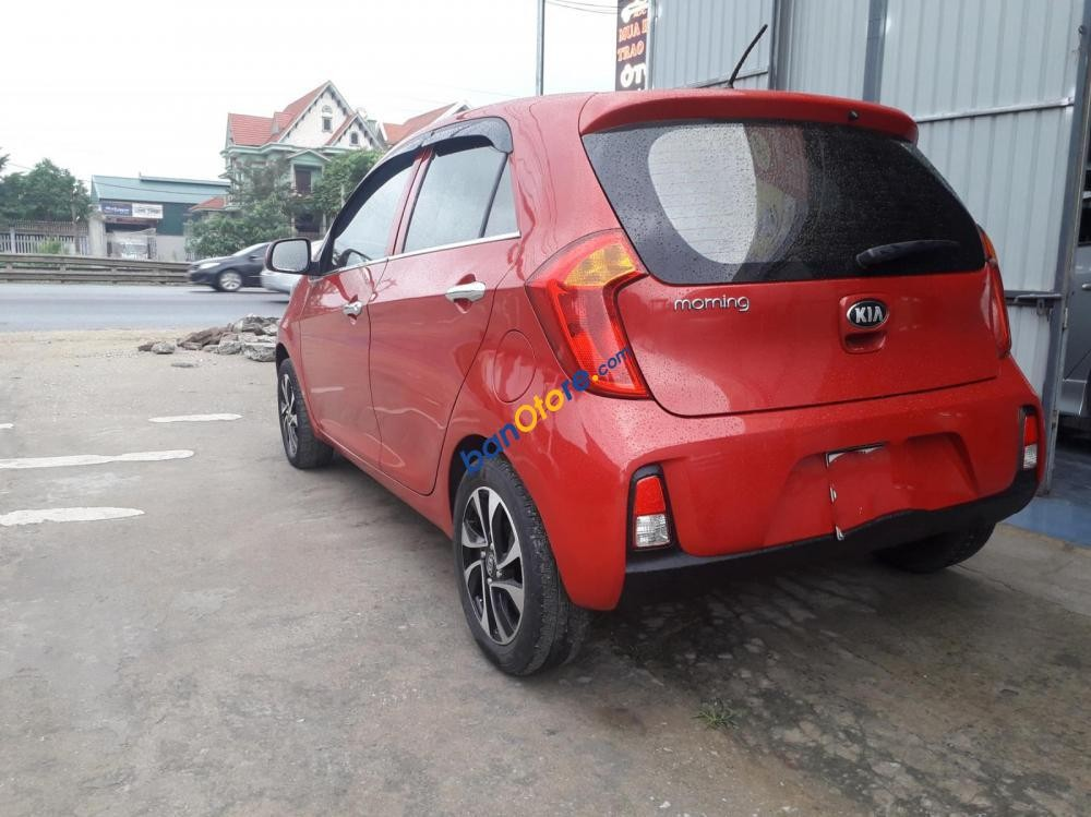 Cần bán Kia Morning năm sản xuất 2015, màu đỏ còn mới