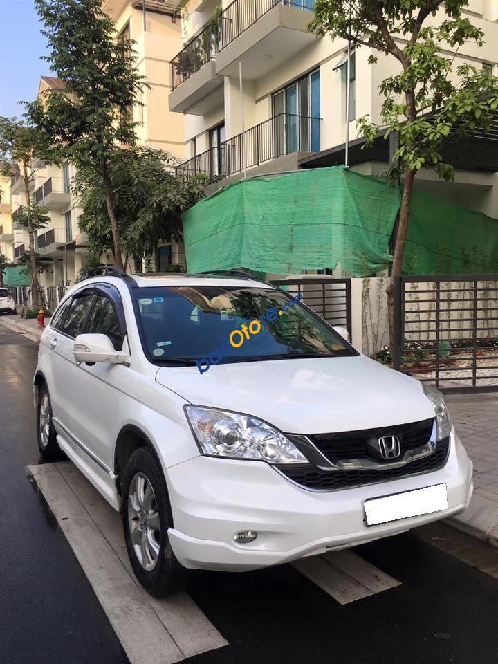 Bán ô tô Honda CR V AT 2.4 năm 2011, màu trắng