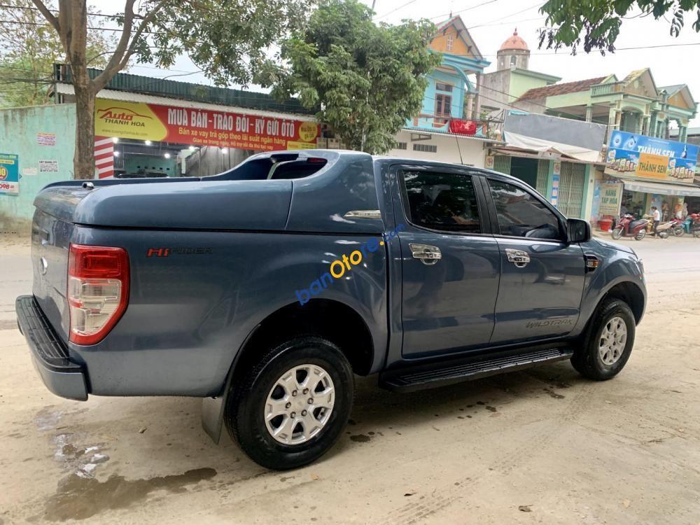 Bán ô tô Ford Ranger XLS 4X2 MT sản xuất 2016, màu xanh lam
