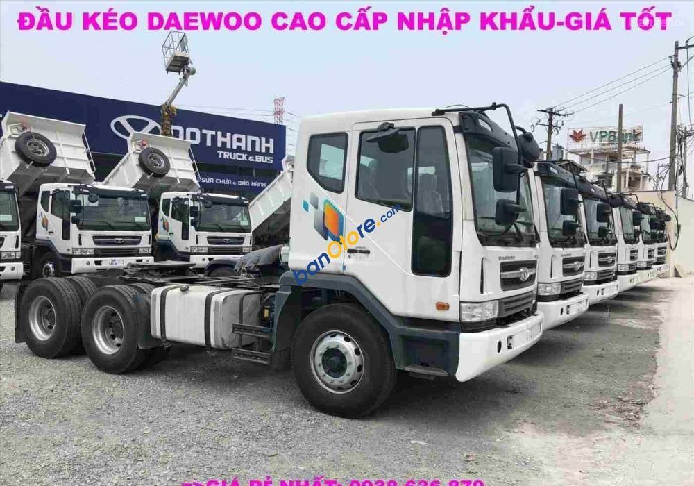 Đầu kéo Daewoo nhập khẩu- giá luôn tốt nhất- xe giao ngay