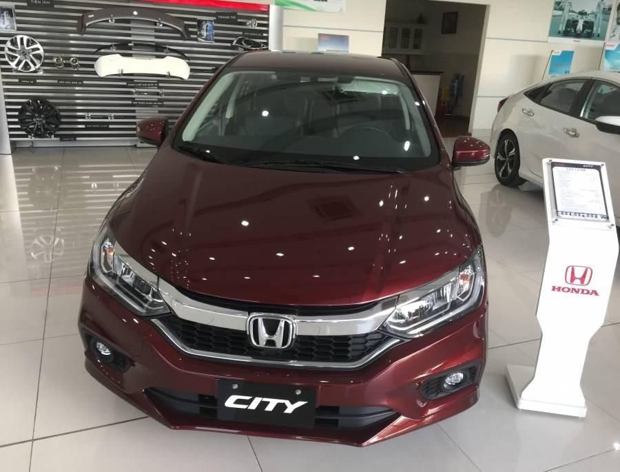 Xe Honda city 2019 - Màu đỏ - Xe có sẵn giao ngay - KM full option hơn 25 triệu - xem ngay