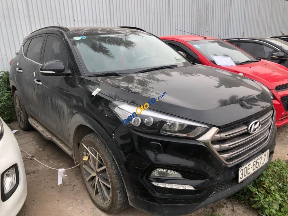 Cần bán gấp Hyundai Tucson sản xuất 2016, màu đen, nhập khẩu Hàn Quốc