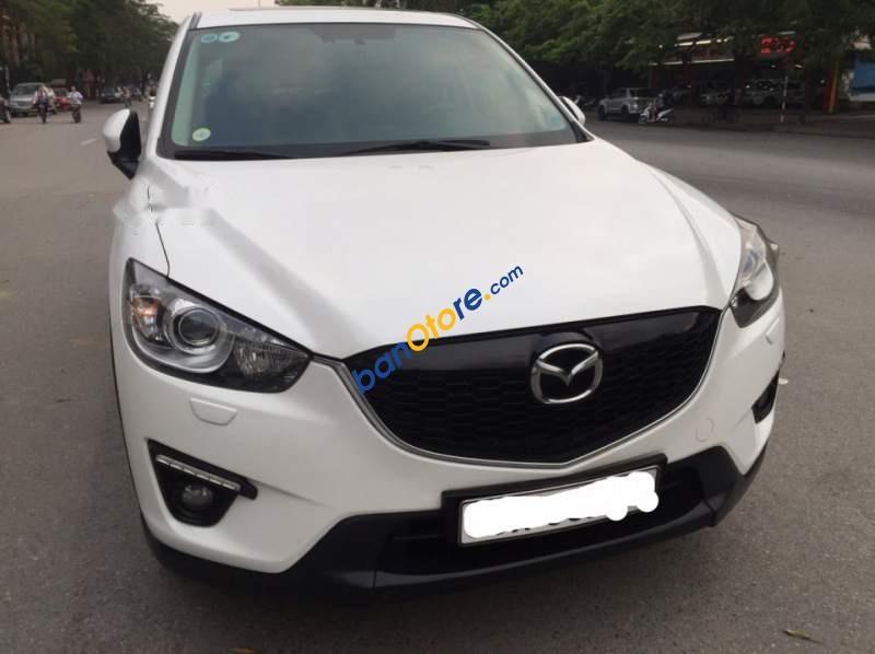 Bán xe Mazda CX 5 sản xuất năm 2015, màu trắng chính chủ, 740 triệu