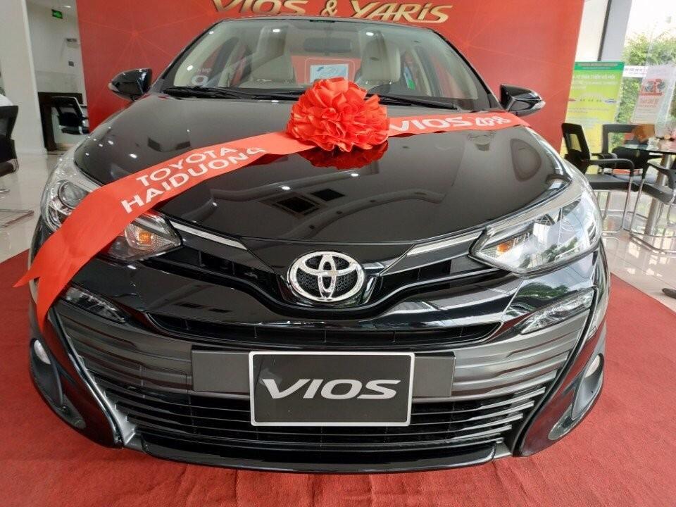 Toyota Vios E cvt 2019 bán trả góp 80% tại Hải Dương, gọi ngay 0976394666