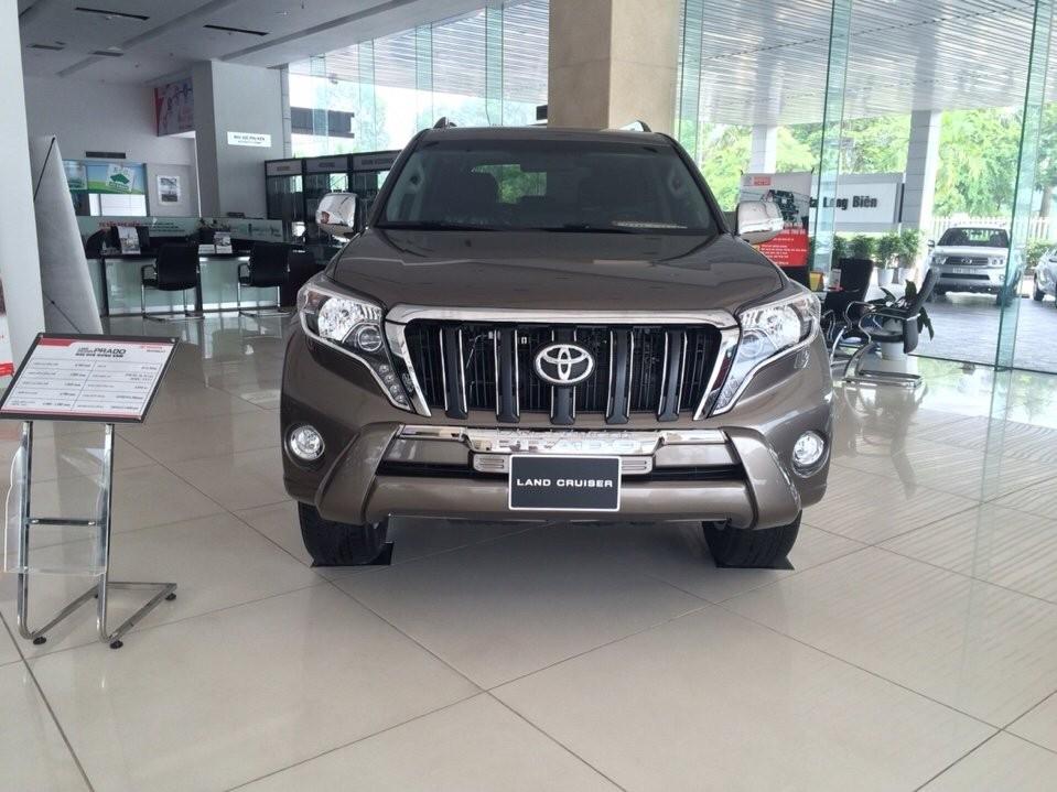 Bán Toyota Prado VX năm 2019, màu vàng, nhập khẩu