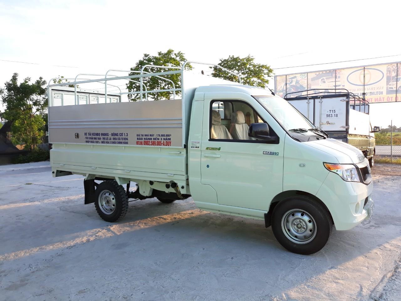 Đại lý xe tải Kenbo Thái Bình bán xe tải Kenbo 990 Kg