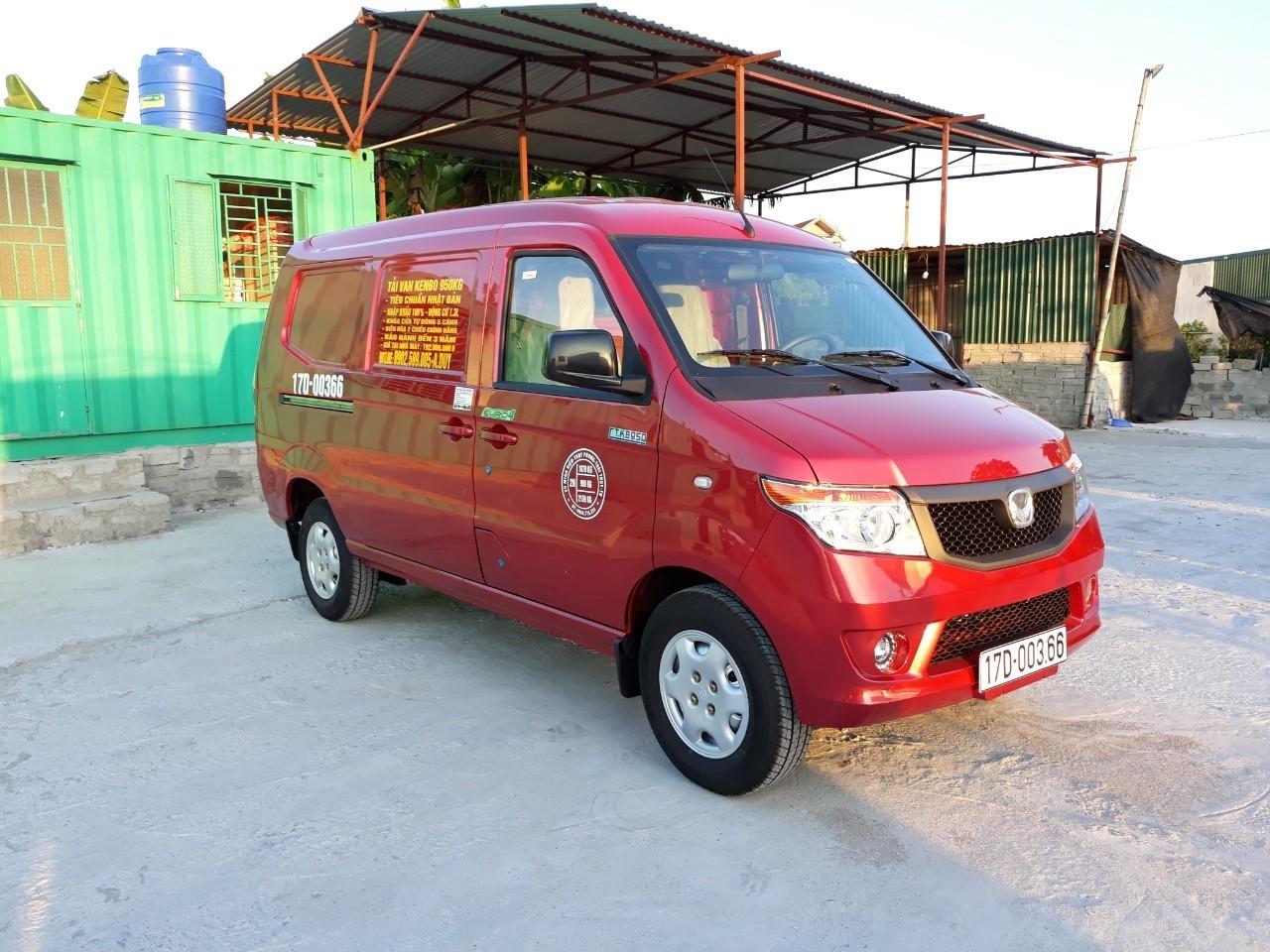 Bán xe tải Van Kenbo 5 chỗ tại Thái Bình