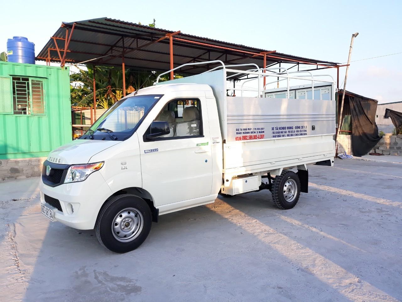 Đại lý xe tải Kenbo Hưng Yên, bán xe tải Kenbo 990 Kg