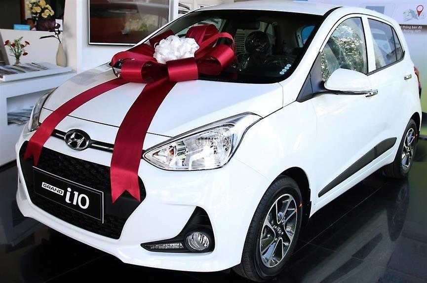 Hyundai i10 Thanh Hóa xe mới 100%, màu trắng, giá chỉ 330 triệu - 0947371548