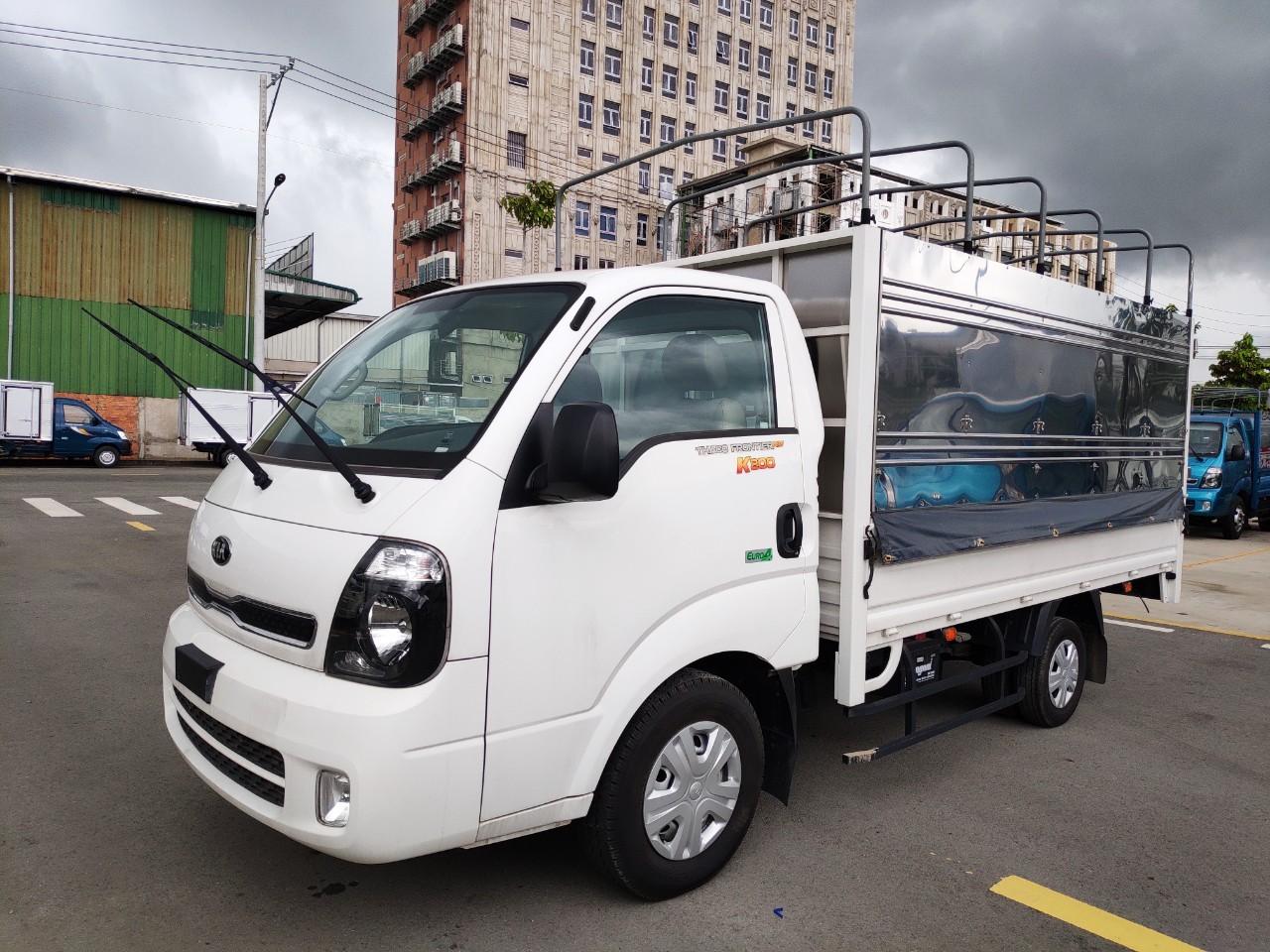 Xe tải Kia K200 1T4-1T9 thùng mui bạt 3 bửng - xe có sẵn giao ngay