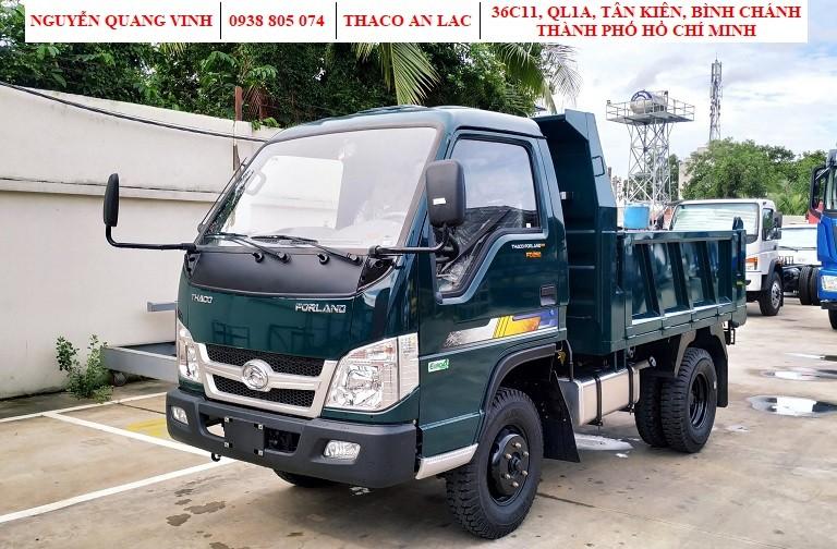 Xe ben Thaco Forland FD250 Euro 4 - thùng 2,1 khối - tải trọng 2,49 tấn - 2020 - hỗ trợ trả góp