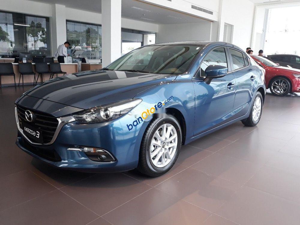 Bán Mazda 3 năm sản xuất 2019, màu xanh