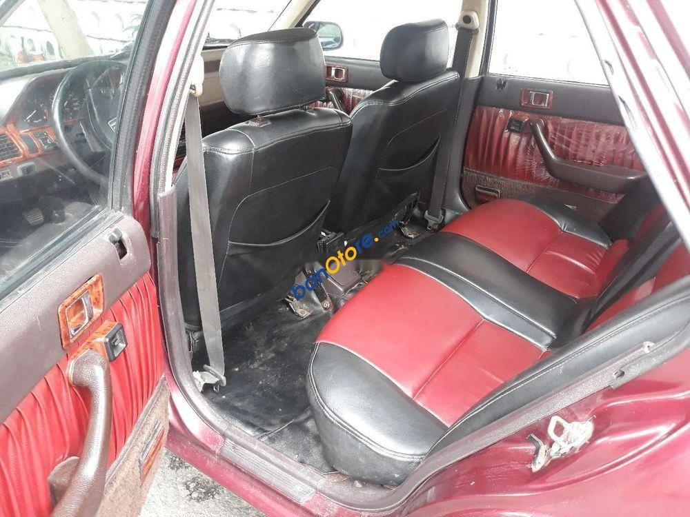 Cần bán gấp Honda Accord năm 1987, màu đỏ, nhập khẩu