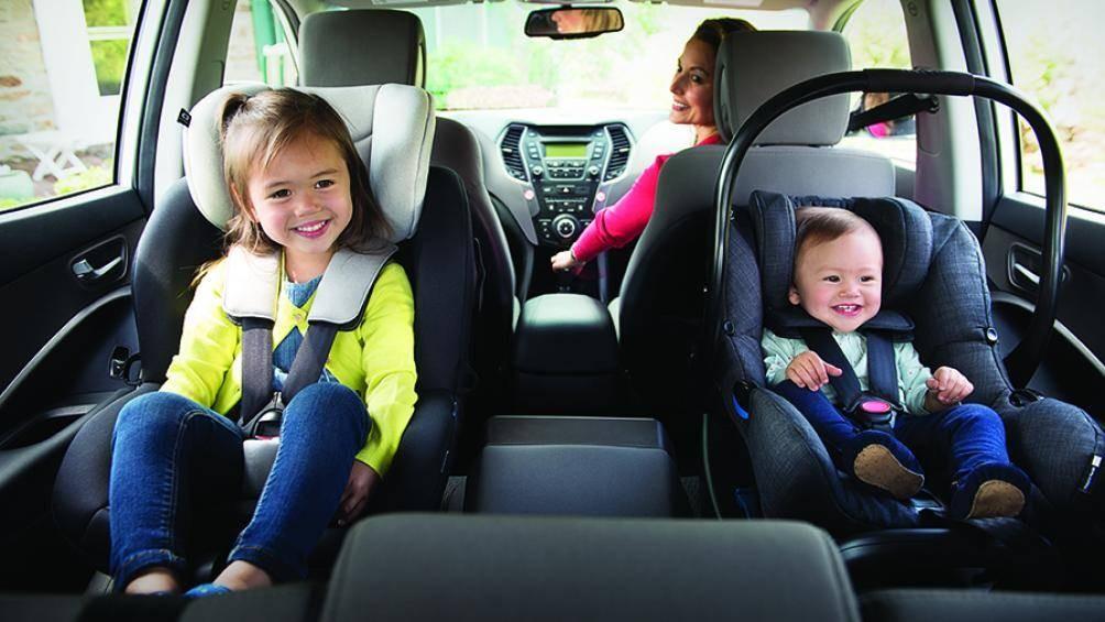 Vị trí ngồi an toàn nhất trên xe ô tô của trẻ em là ở đâu? 1
