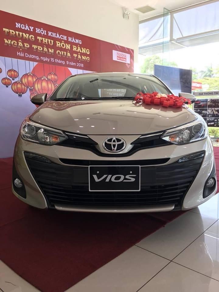 Bán Toyota Vios 2020 trả góp tại Hải Dương, gọi ngay 0976394666