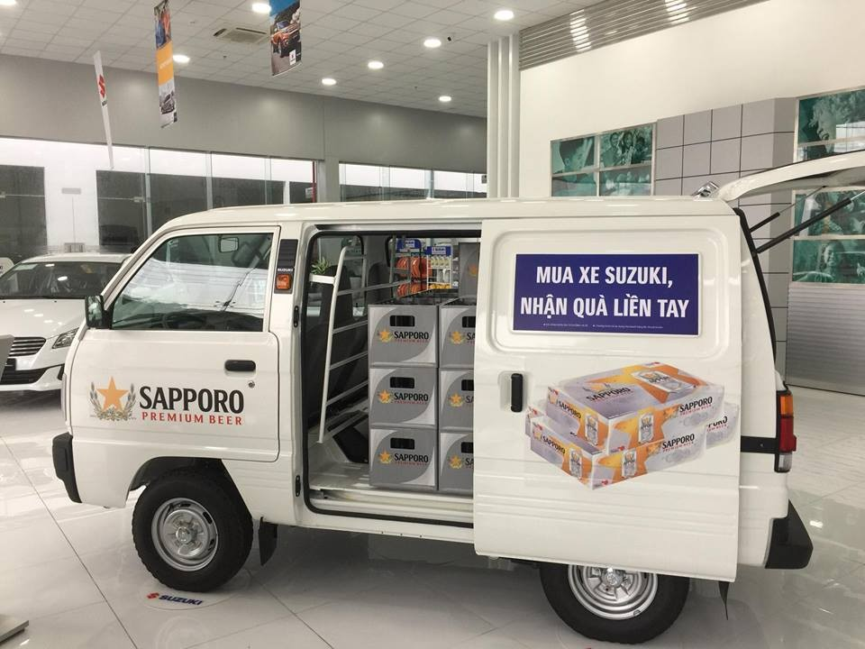 Cần bán xe Suzuki Super Carry Van bán tải 2019, tặng 12 triệu