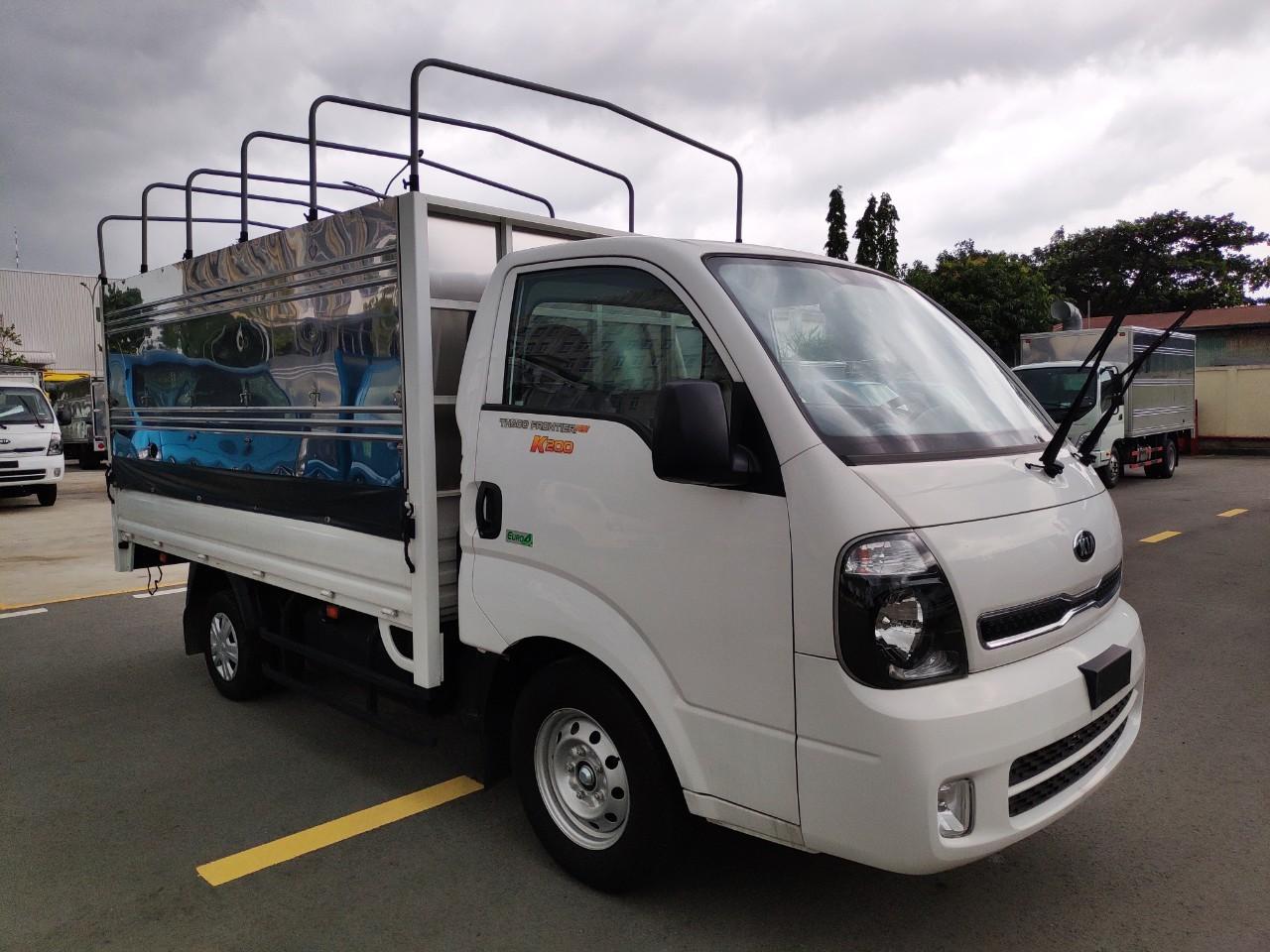 Xe tải 1T9 - Kia K200 - thùng bạt 3 bửng - hỗ trợ vay 70%