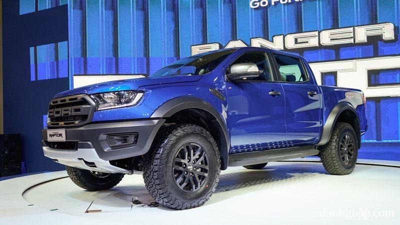Ngoại hình bề thế của Ford Ranger Raptor 2019