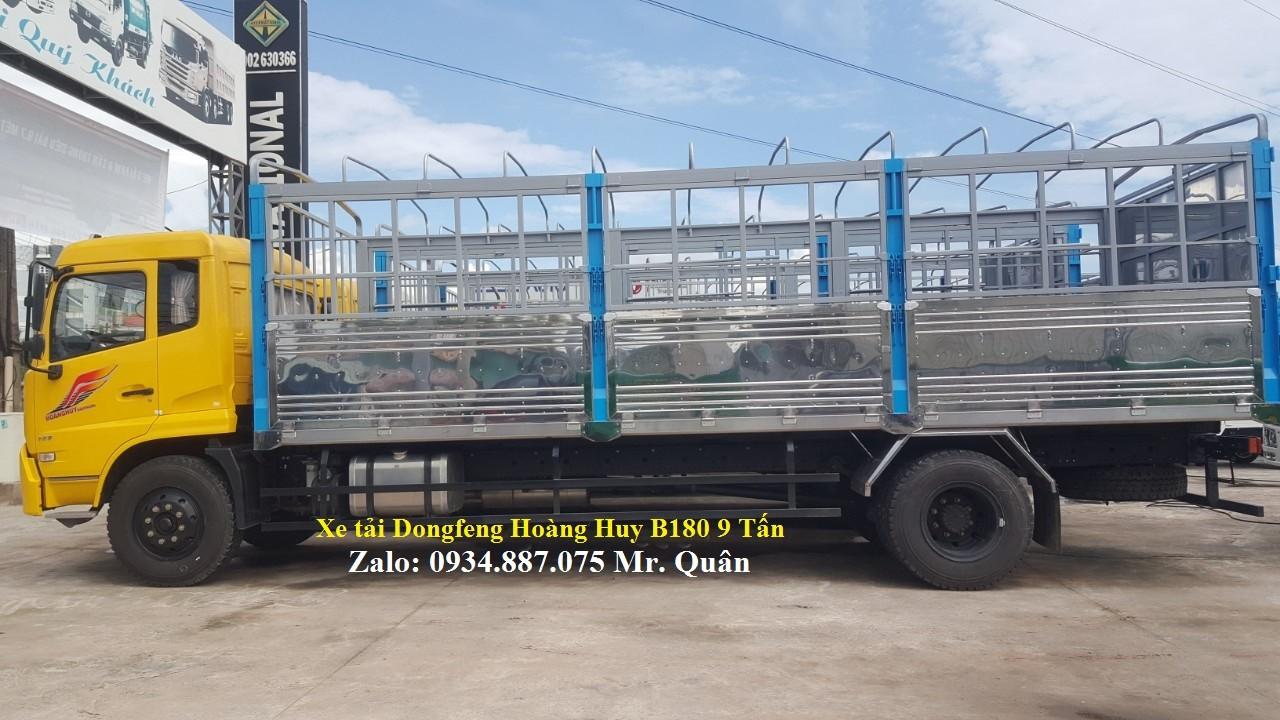 Bán xe tải Dongfeng B180 9 tấn, nhập khẩu nguyên chiếc