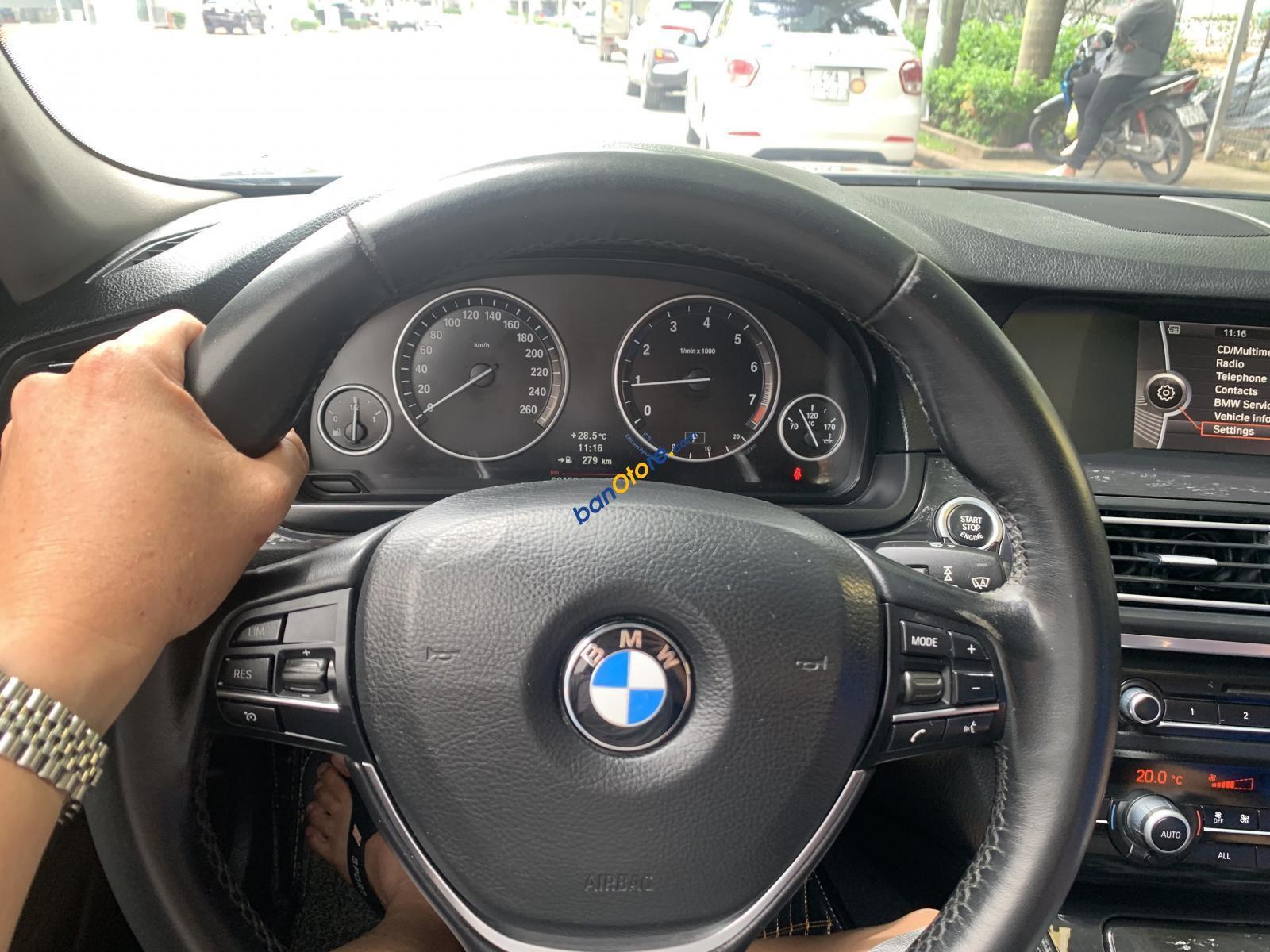 Bán BMW 5 Series 528i năm 2013, màu xám, xe nhập